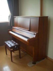 ピアノが来てから自然と練習量が増えました (中古/ヤマハ)