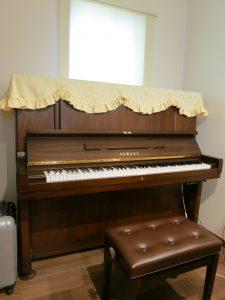 中古ピアノで大丈夫かな?という心配もなくなりました  (中古ピアノ/ヤマハ)